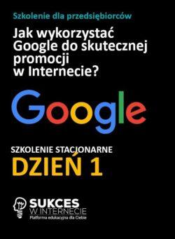 Szkolenie Google Stacjonarne