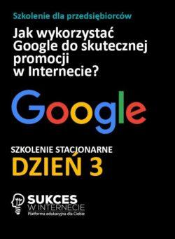 Szkolenie zaawansowane Google Ads i Google Analytics