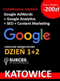 Szkolenie Google Katowice 2 dni