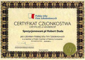 Spozycjonowani - Polska Izba Firm Szkolenowych