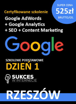 Szkolenie Google Ads i Analytics Rzeszów