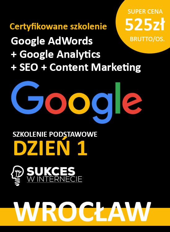 Szkolenie Google Ads Wrocław
