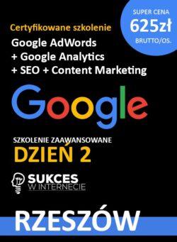Szkolenie Google Analytics i Google Ads Rzeszów