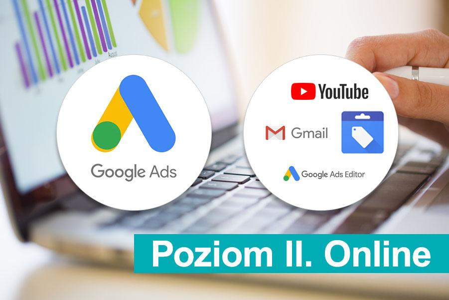 Szkolenie Google Ads, Poziom 2 Online